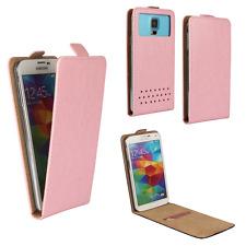 Handy Hülle | HUAWEI Ideos X3 | Flip Schutz Tasche | Flip Rosa XS