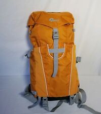 Lowepro Camera Sport Sling Bag Orange Gray Backpack Padded Harley Davidson Patch