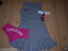 "ANN SUMMERS`S-GREY-SCHOOLGIRL""SPANK CLUB""NEW-SIZE 8"