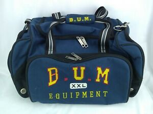 Vintage B.U.M. Equipment Gym Duffel Bag - Blue