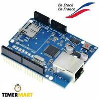 Module Ethernet W5100 Shield Micro SD port compatible UNO R3 Mega 2560 Arduino