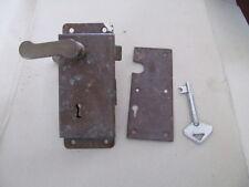 serratura con maniglia chiave in ottone barca nautica