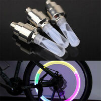 7 Color Night Light Bike Decoration LED Light Bicycle Accessories Tire Lamp UK