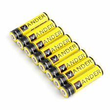 8x Lithium Ionen Akkus 3,7 V Li-Ion 6000mAh 18650 Modellbau Akkus Batterien