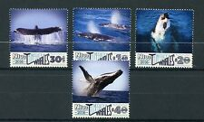Niue 2016 MNH Humpback Whales 4v Set Marine Mammals Animals Whale Stamps