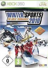 Xbox 360 rtl invierno Sports 2010 deportes de invierno nuevo deporte