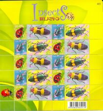 2005 Thailand Insects BEETLES Attractive Stamp Sheet Hologram MINT MNH FULLSHEET