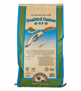 Down To Earth - Seabird Guano (0-11-0) 40 LB - All Natural Organic Fertilizers
