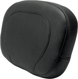 Mustang 76572 Passenger Backrest Pad, Smooth 14in Harley Electra Glide,Electra G