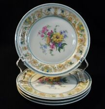 ROSENTHAL SELB GERMANY WINIFRED R484 CONTINENTAL BREAD & BUTTER PLATES BEAUTIFUL