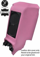 PINK REAR CENTRE SUBWOOFER PANEL REAL LEATHER COVER FITS GT-R R35 2009-2017