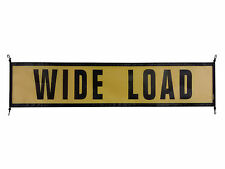 "Oversize Warning Products - EZ Hook Wide Load Sign 18"" X 84"" 
