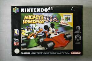 Nintendo 64 * MICKEY`S SPEEDWAY USA * NEU6 * N64 !! !!