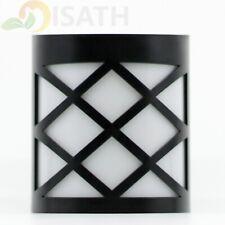 Outdoor 6 Led Solar Wall Lights Garden Yard Path Lamp(White)