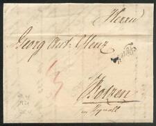 ÖSTERREICH 1821 VORPHILABRIEF von LINZ nach BOTZEN (D0827