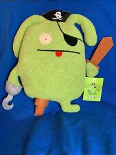 Uglydoll Plush Classic PIRATE OX NEW with tags