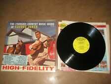 George Jones. LP. The fabullous country music sound of  (5178)