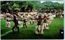 TAHITI, French Polynesia   TAHITIAN DANCERS During 14th of July's Fair  Postcard