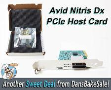 Avid Nitris Dx PCIe x4 Host card - 7030-30048-02 B - Gen 2 HBA - New in open box