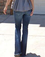 Sundance Catalog flare jeans w/fringe hem by Driftwood (Eva Boho Jean), 25