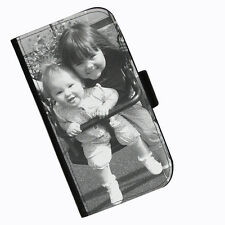 Personalizado Impreso Piel Cartera Funda para teléfono móvil Navidades