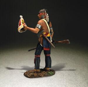 Eastern Woodland Indian Warrior with Souvenir Grenadier Cap - W. Britains #16062