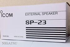 NEW ICOM SP-23 External speaker for IC-756/746//718/910 from JAPAN