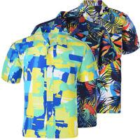 Stylish Men's Boy Short Sleeve Shirt Hawaiian Beach Summer Casual Hawaii Tops