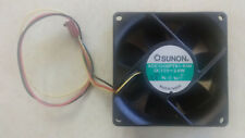 Brushless Box Fan 12VDC 190mA 80mm x 80mm x 25mm KDE1208PTB1-6AM 3200RPM TachOut