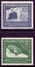 THIRD REICH 1938 mint Zeppelin stamp set!