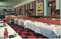 Postcard NY Danny's Hideaway Restaurant New York City Tin Pan Alley VTG Chrome