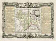 """""""Partie de l'Italie…"""" Milan Parme Génes Italy Savoie. DESNOS/DE LA TOUR 1771 map"""