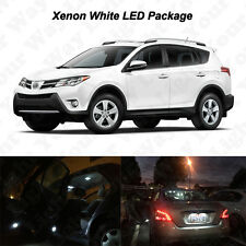 10 x White LED Interior Bulbs + Reverse + Tag Lights For 2006-2017 Toyota Rav4