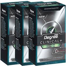3 Pack Degree Men Clinical Extreme Fresh Antiperspirant Deodorant, 1.7 Oz