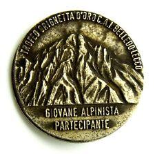 Spilla Trofeo Grignetta D'Oro C.A.I. Belledo - Lecco (Giovane Alpinista Parte