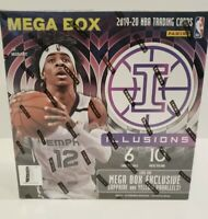 🏀2019-2020 Panini NBA Illusions Mega Box Sealed🔥 Ja Zion Herro Rookie Cards?