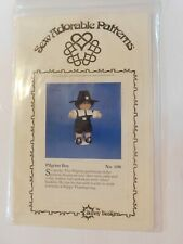 Vintage Sew Adorable Pattern Pilgrim clothes for your cabbage patch doll 1985