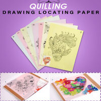 18PCS Quilling Tool DIY Release Drawing Locating Paper Craft Quilled  NEW