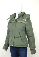 The North Face Women's S-XL TNF Forester 550-Down Winter Crop Jacket Thyme NEW