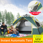 Automatic Instant Pop Up Tent UV Resistant Waterproof Camping Hiking 2-3 People