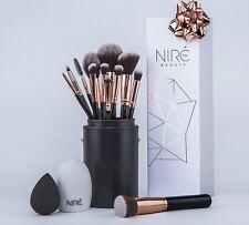 Nire Beauty Makeup Brush Set: Make up Brushes with Brush Case