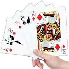 Surtido Jumbo Extra Grande Gigante Carta de Juego Póker Whist Azar