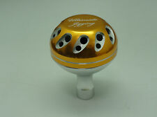 U.J. PRK 40 mm Knob for SHIMANO Stella Twinpower SW 5000 - 20000 reel Gold/SV/SV
