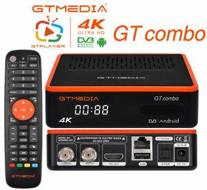 GTMedia GTcombo 4K DVB Combo Satellite TV Receiver YUV4:2:2,Voice remote control