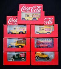 Lot of 5 Boxed LLEDO Days Gone COCA COLA Diecast Models COKE BUS Van Truck Gift