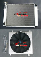 3 CORE Aluminum Radiator+Shroud+Fan FOR Holden V8 Commodore VG VL VN VP VR VS AT