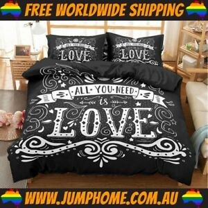 All You Need Is Love Bedspread Set - Duvet Cover *FREE WORLDWIDE SHIPPING*