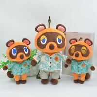 Animal Crossing New Horizons Tom Nook Timmy Tommy Plush Toy Stuffed Doll Gifts