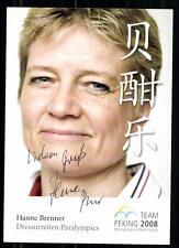 Hanne Brenner Autogrammkarte Orginal Signiert Reiten + A 85281