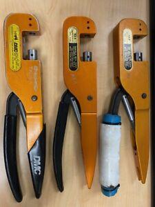 Pre-Owned Daniels Mfg DMC HX4 M22520/5-01 Aircraft Crimping Hand Tool NO Dies!!